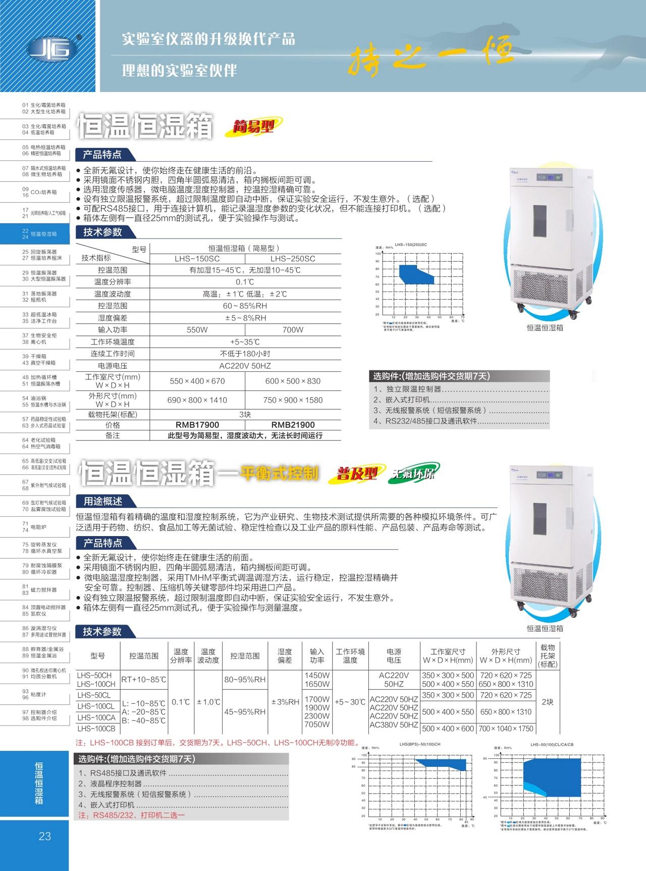 上海一恒简易型恒温恒湿箱