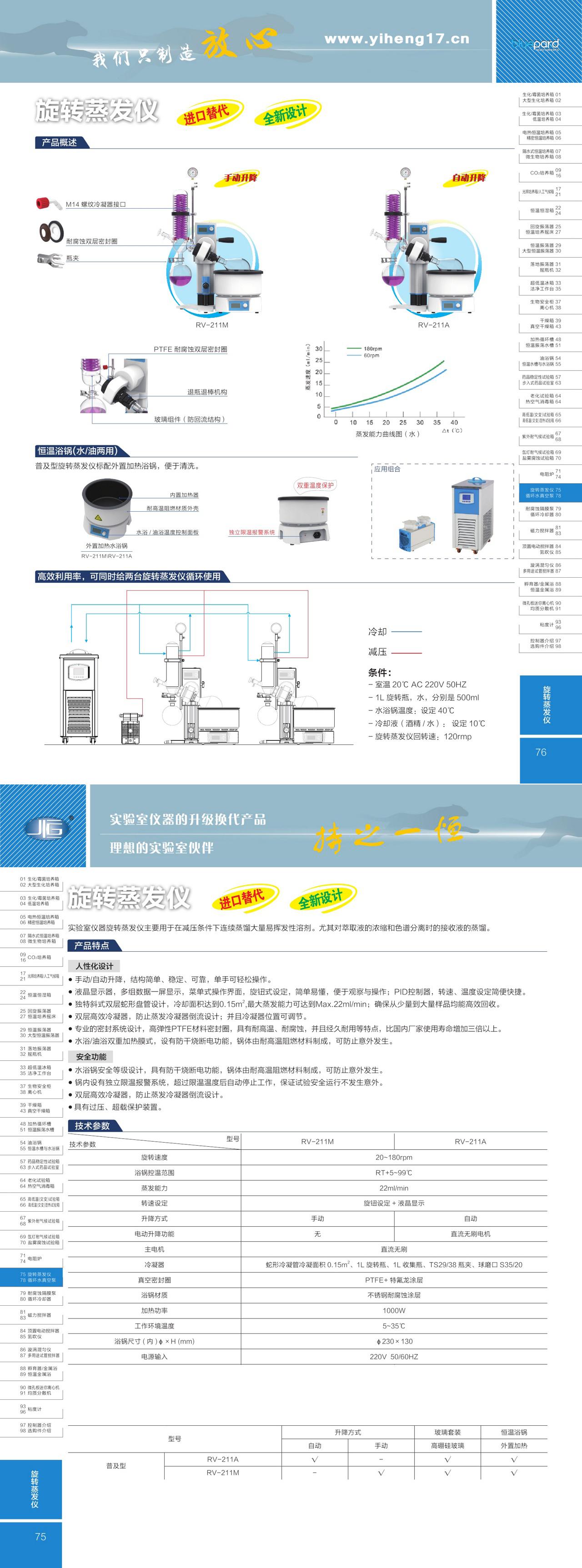 上海一恒旋转蒸发仪
